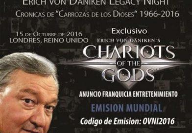 LA NOCHE DEL LEGADO DE ERICH VON DANIKEN