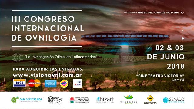 ENTRADAS AL III CONGRESO INTERNACIONAL DE OVNILOGIA
